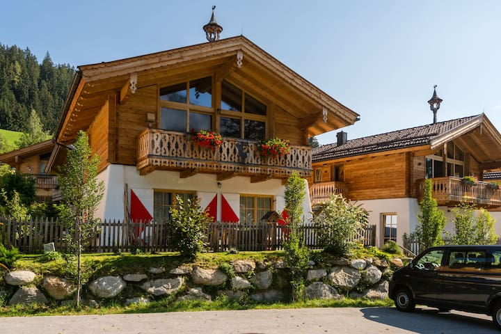 Quaint Chalet with Garden in Wald im Pinzgau