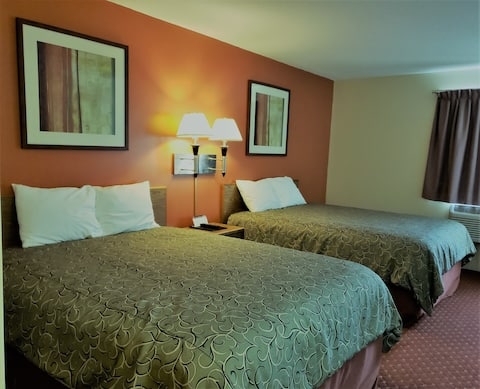 Sibley Inn 1 room 2 beds only