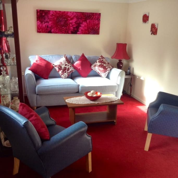 Make yourself at home in our comfortable living area