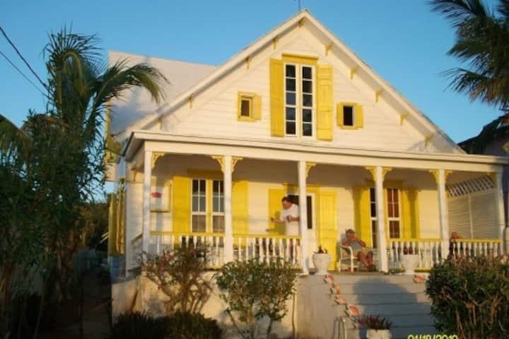 Tropical setting-Eleuthera Bahamas