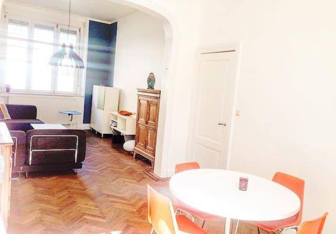 maison meublée 2 chambres. Citadelle de Liège - Liège - บ้าน