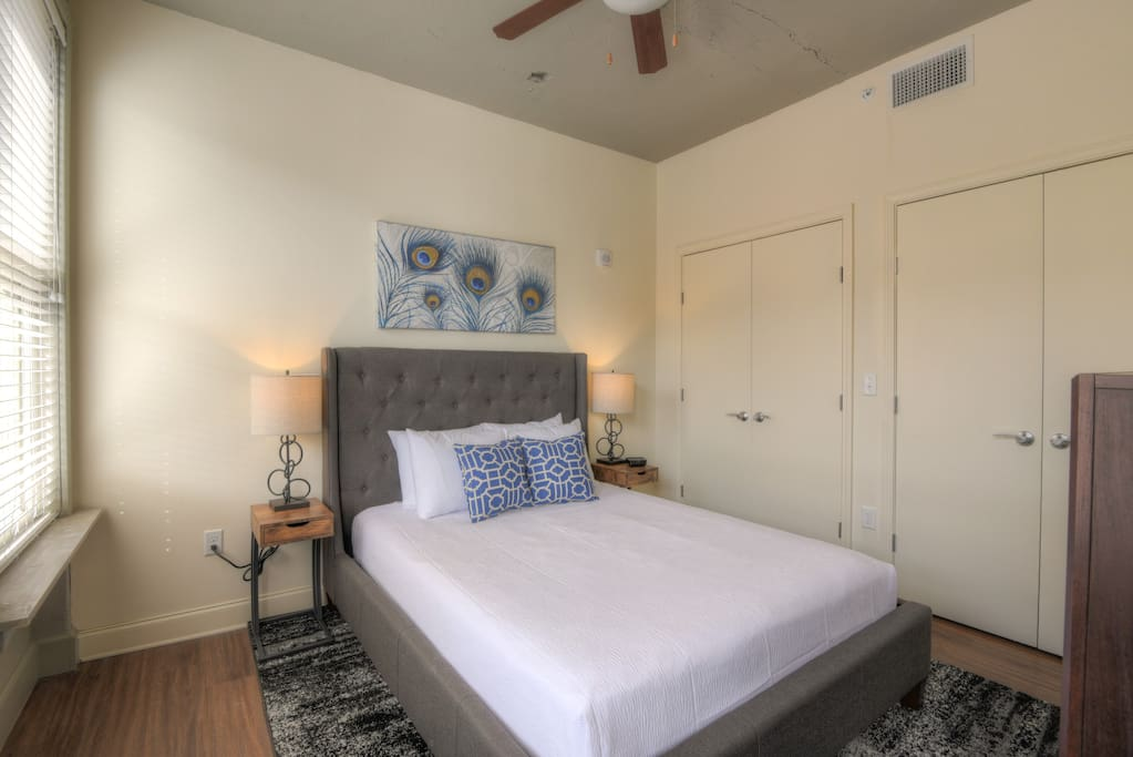 Bedroom at The Chisca by Stay Alfred!