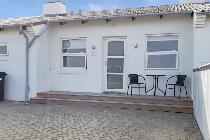 Atractiva casa de vacaciones en Skagen Dinamarca con terraza