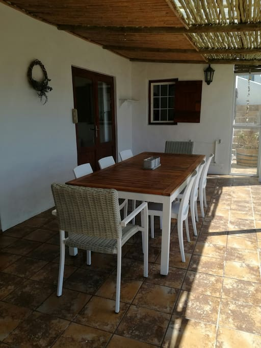 Heart of the house -veranda/stoep with full view if the sea