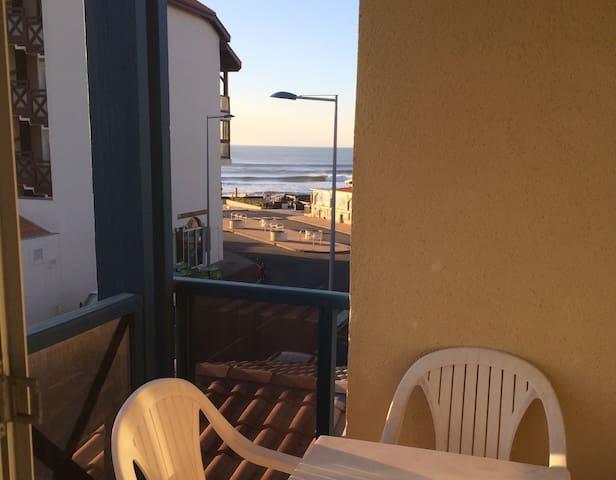T2 vue océan, 1 chambre + parking - Lacanau