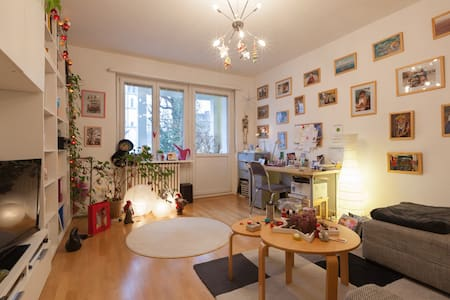 Helle, zentrale 2- Zimmerwohnung mit Balkon - Wiesbaden