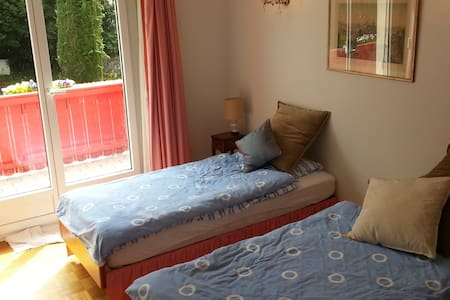 Private Bedroom in Large Montreux Villa - Clarens - Villa