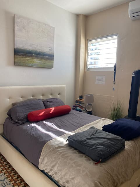 Calle Loiza - Private 1BR Comfy and Cool Hideout