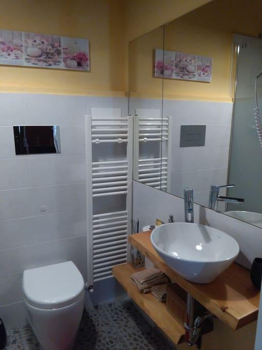Bagno privato camera Zen