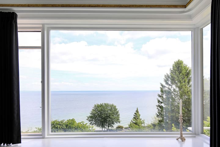 Beautiful panoramic sea view, north of Copenhagen