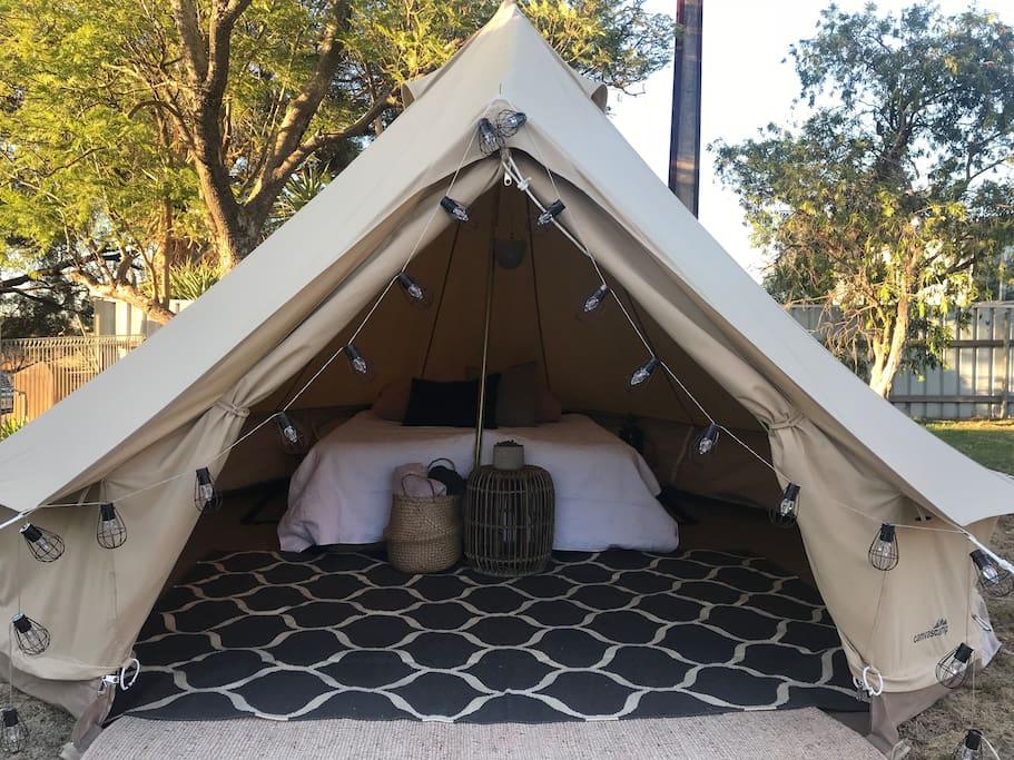 Margot bell tent - Sleeps 2