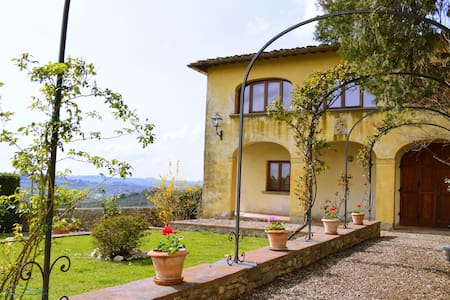 Private House in Chianti with pool - San Casciano in Val di Pesa