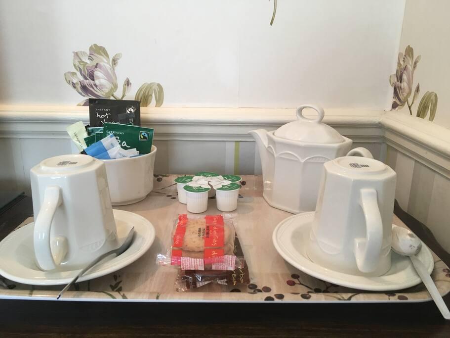 Tea & Coffee tray