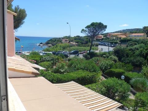 French Riviera Sea Mirror 50m beach