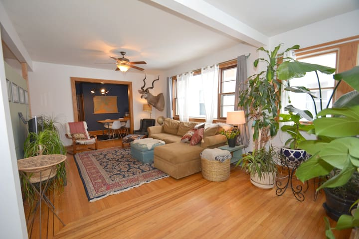 Eclectic South Minneapolis Home