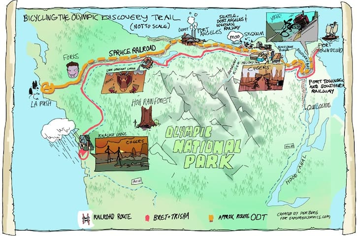 Must Do: Ride the Olympic Discovery Trail