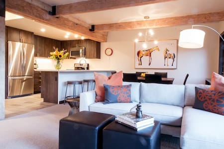 Remodeled 2015! EcoContemporary 2BR - Snowmass Village - Wohnung