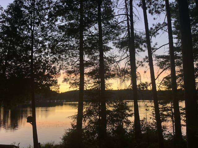 Sunset Escape on Benoir Lake
