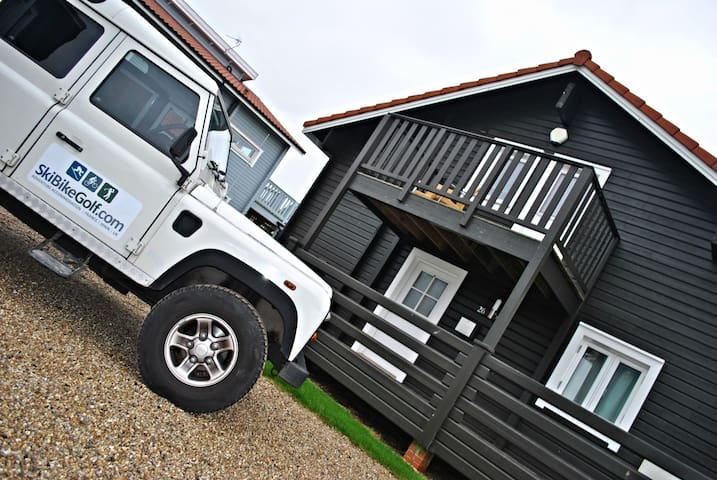 Luxury Scandinavian Lodge Norfolk - Fritton - Huis
