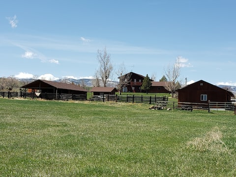 Quiet and spacious apt on beautiful 10 acre ranch