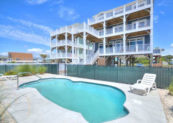 Lighthouse-Oceanfront & POOL