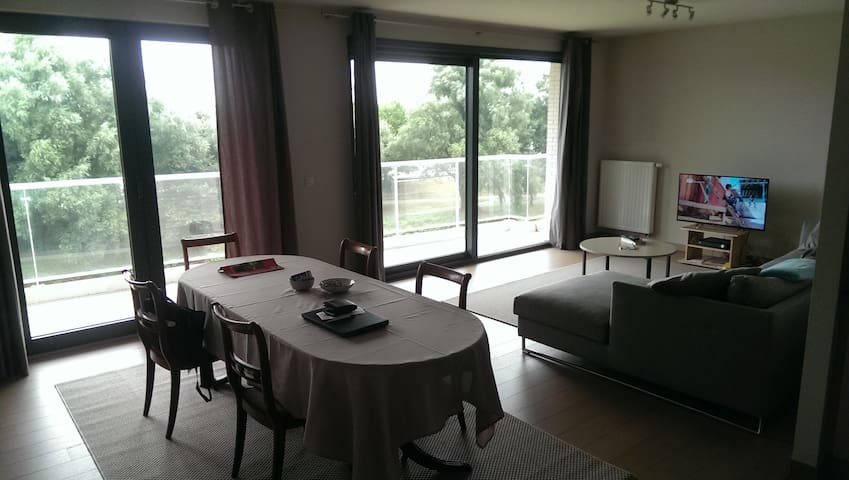 Spacious apartment, perfect location, free parking - Hasselt - Apartament