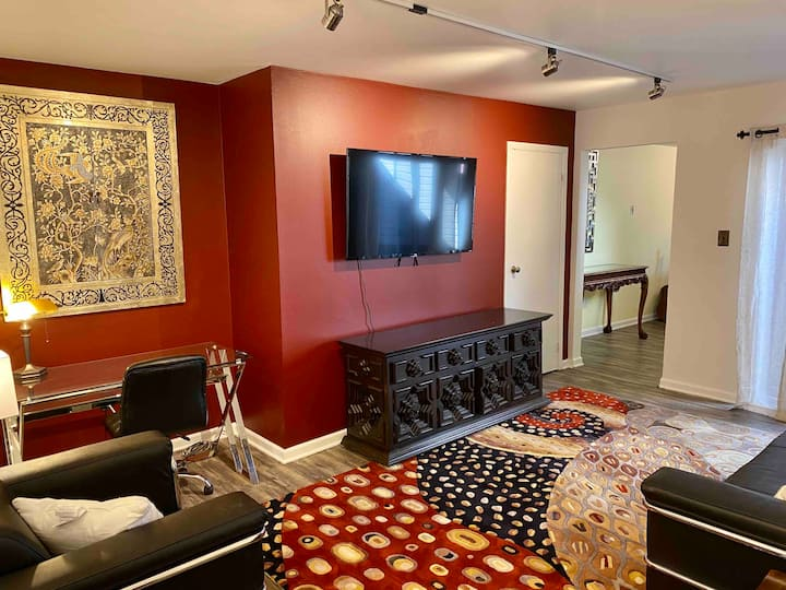 South side apartment with game room