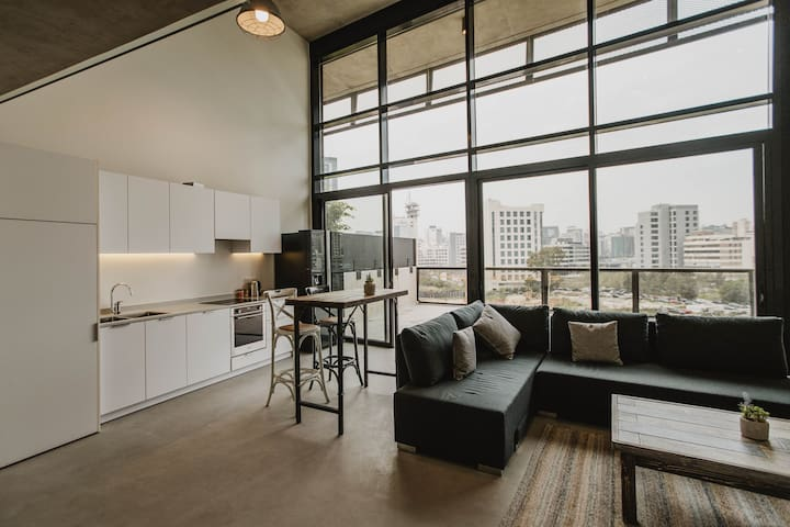 Duplex Loft with big Terrace in Central Beirut