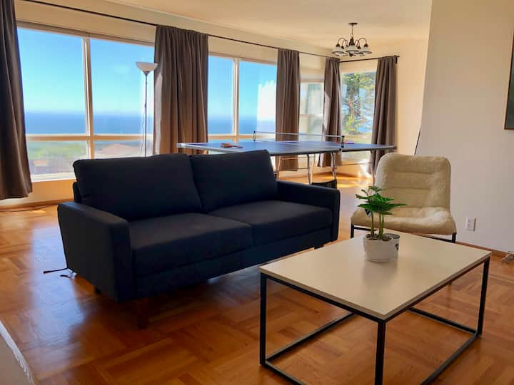 PANORAMIC | Oceanside PingPong 3Bd/2Ba 15min to SF