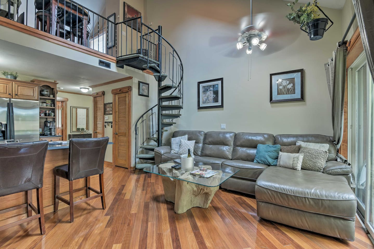 Book this 1-bed, 2-bath vacation rental for your next Vernon Township getaway!