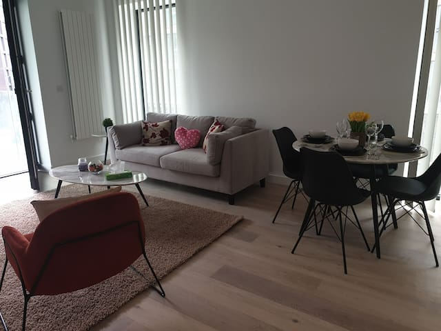 NEW LUXURY 2 BED APARTMENT, EXCEL/02/CITY AIRPORT