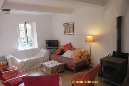 maison ancienne dans un jardin calme et ombragé - Saint-Cyr-sur-Mer - Casa