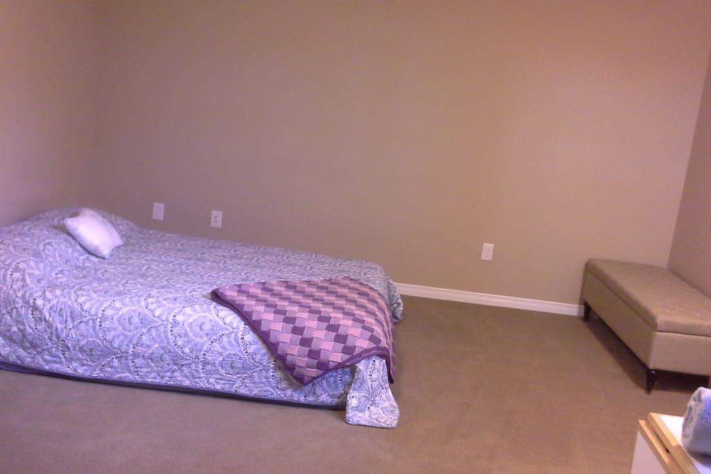 Spare queen mattress