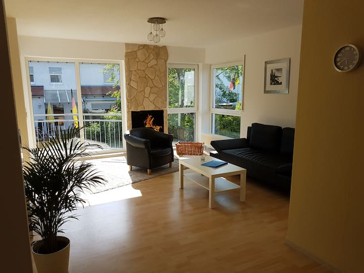 Wonderul, quite, bright 60sqm apartment, 4 persons