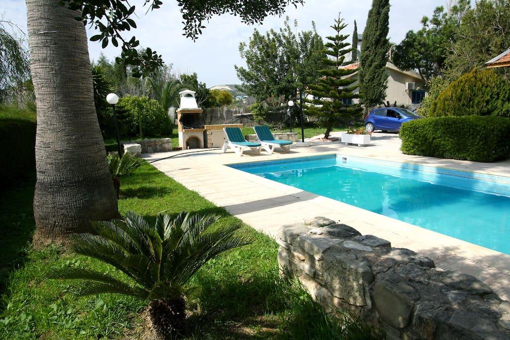 Alonia private pool