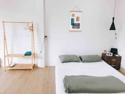 Dsoul Minimal Cozy Room with Garden View, Cam Ranh