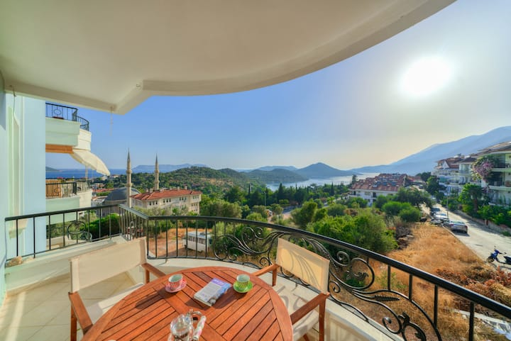 Luna Apartment : Best Views of Kas