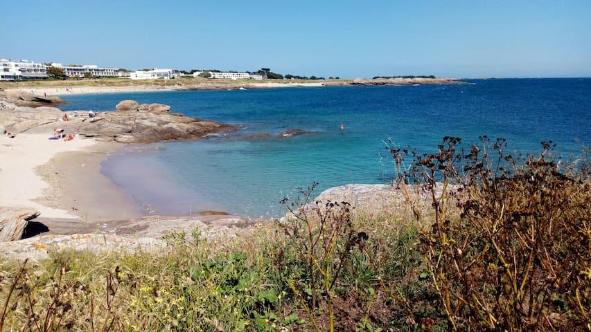 Appartement face mer et Belle île