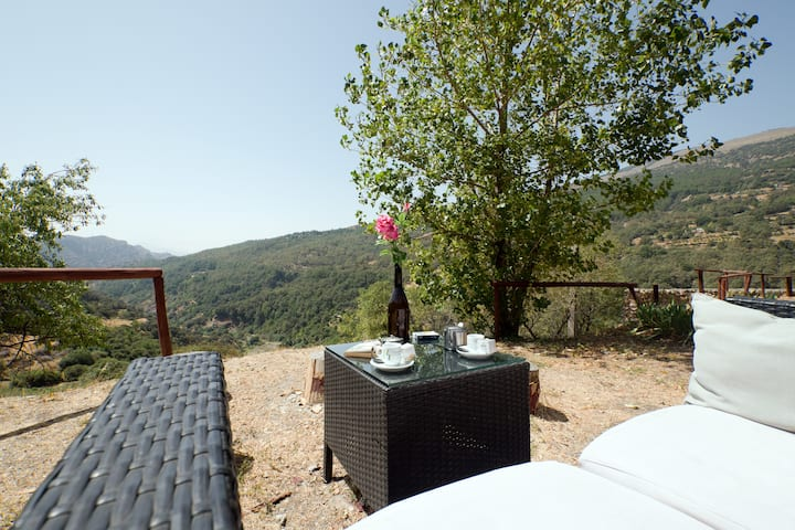 Acogedor apartamento en valle del río Trevélez
