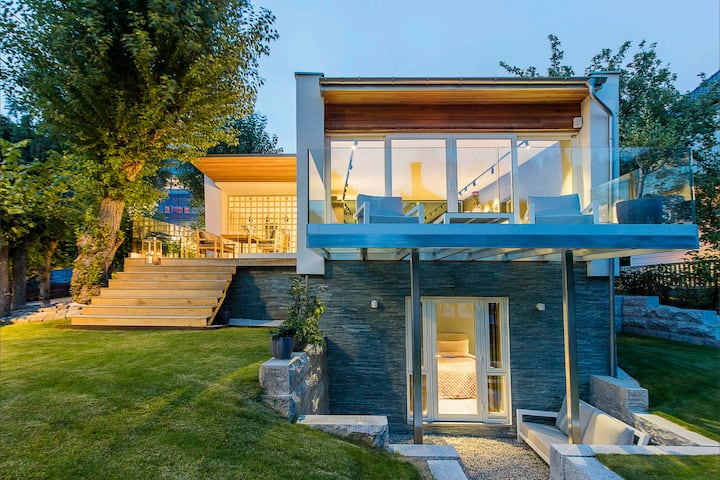 Exclusive design house, quiet, close to everything