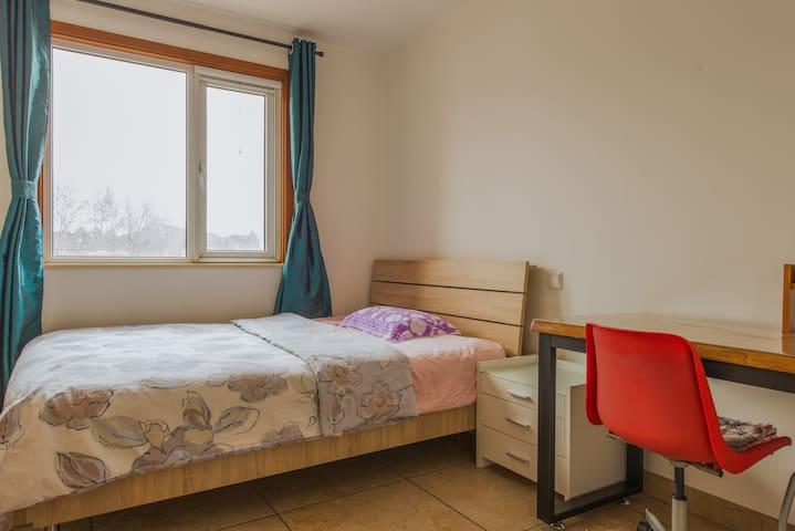 Quiet Clean Cosy room 10mins to SBW - Beijing - Hus
