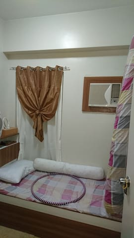Bedroom in secured condominium