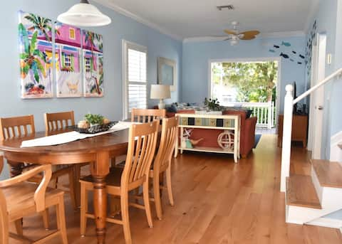 Clean and Bright Key West Inspired Home