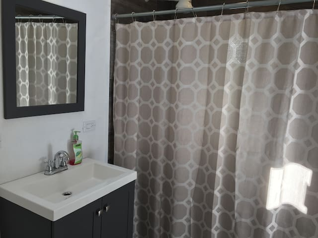 Large Bathroom with Oversized Shower