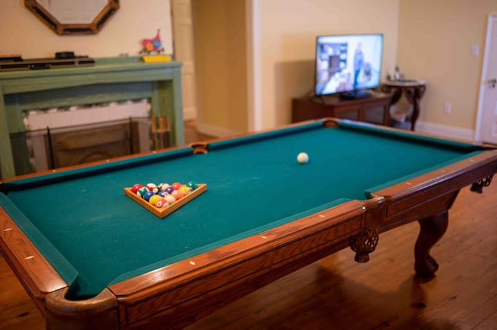 Pool table! 1.2 miles Ybor Armature Works 4 blocks