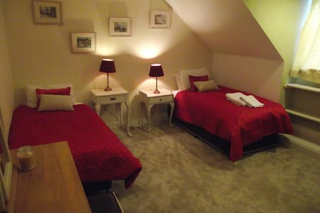 Innis House b&b, twin bedroom - Aberdeenshire - Bed & Breakfast