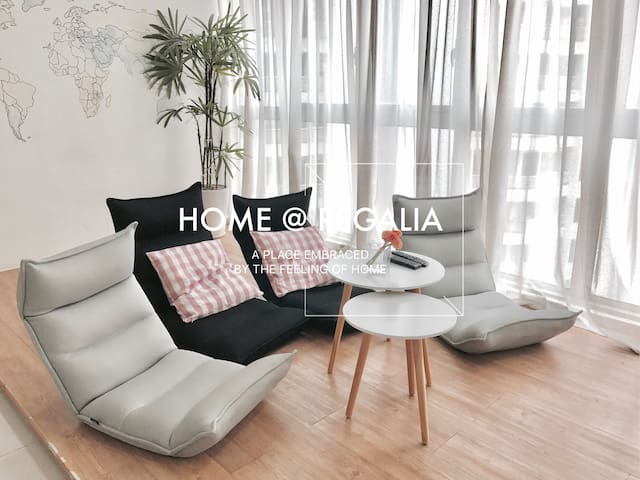 Home @ Regalia, KL (Near LRT & KTM) 5分钟步行到地铁站