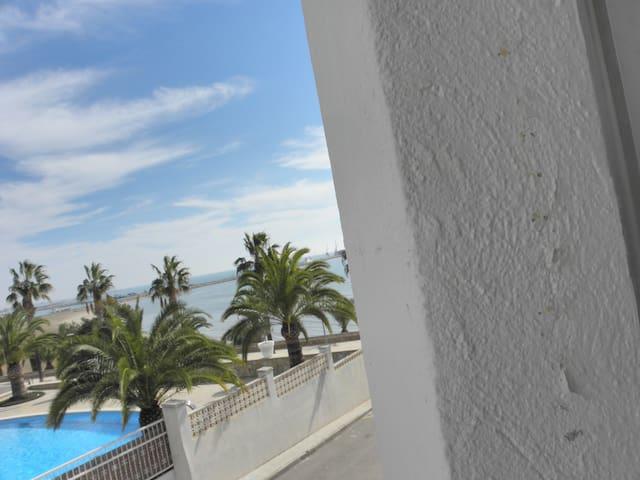 Un joli appartement à 50 mètres de la plage - Sant Carles de la Ràpita - Byt