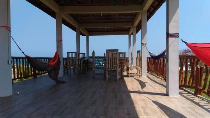 Beach Front Surf Camp at Medewi West Bali