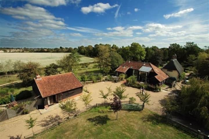 Spacious 400 Year old Old Oak & Goat Willow Barn